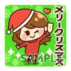 女の子クリスマス
